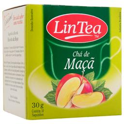 Chá de Maçã Lin Tea 30g com 10 unidades