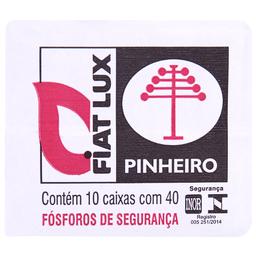 Fósforo Pinheiro Fiat Lux com 10 caixas