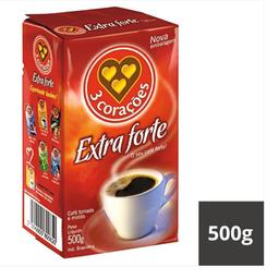 Café Extraforte a Vácuo 3 Corações 500g