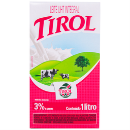 Leite Longa Vida Integral Tirol 1 Litro