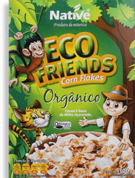 Cereal Corn Flakes Orgânico Native 300g