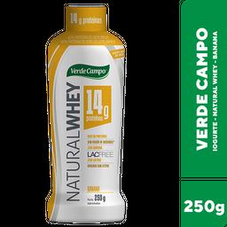 Iogurte Whey de Banana Verde Campo 250g