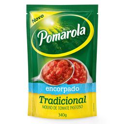 Molho de Tomate Encorpado Pomarola 340g