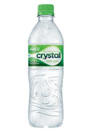 Água Mineral com Gás Pet Crystal 500ml