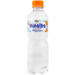 Água Mineral com Gás Minalba Pet 310ml