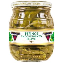 Pepino em Condimento Suave Hemmer 300g