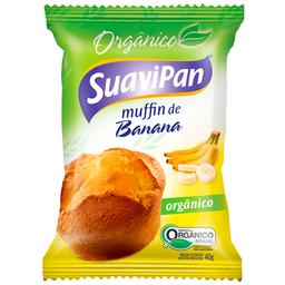 Muffin Orgânico de Banana Suavipan 40g