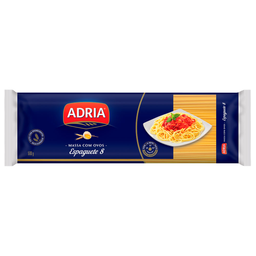 Macarrão Espaguete com Ovos Adria 500g