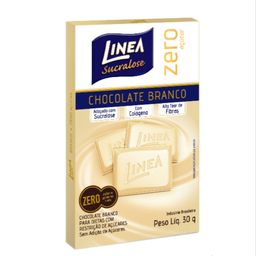 Chocolate Branco Zero Açúcar Linea 30g