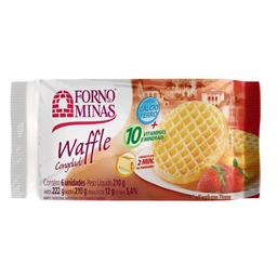 Waffle Tradicional Forno de Minas 210g
