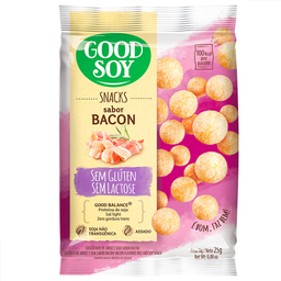 Snack de Soja Sabor Bacon Good Soy 25g