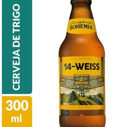 Cerveja 14-Weiss Bohemia One Way 300ml