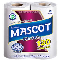 Toalha de Papel Mascot com 2 unidades