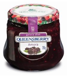 Geleia de Amora Diet Queensberry 280g