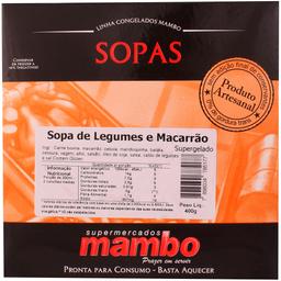 Sopa de Legumes e Macarrão Mambo 400g