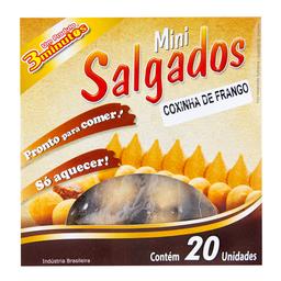 Mini Coxinha de Frango 3 Minutos 400g