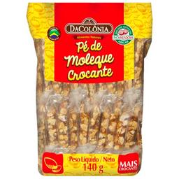 Pé de Moleque Crocante DaColônia 140g