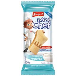 Bolo de Iogurte Mini Chef Jacquet 30g
