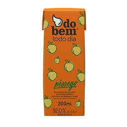 Suco de Pêssego Todo Dia Do Bem 200ml