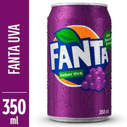 Refrigerante de Uva Fanta Lata 350ml