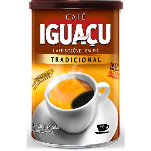 Café Tradicional Solúvel Iguaçu 100g