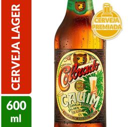 Cerveja Colorado Cauim Garrafa 600ml