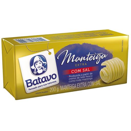 Batavo Manteiga Extra Com Sal Tablete