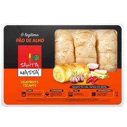 Pão de Alho Picante Santa Massa 400g
