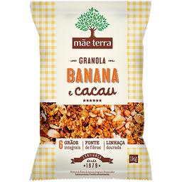 Granola Banana e Cacau Mãe Terra 1kg