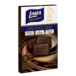 Chocolate Dark Zero Açúcar Linea 30g