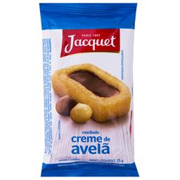 Mini Bolo Creme de Avelã Jacquet 25g