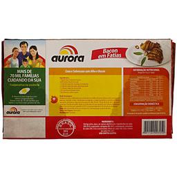 Bacon Resfriado Fatiado Aurora 250g