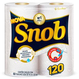 Toalha de Papel Snob com 2 unidades