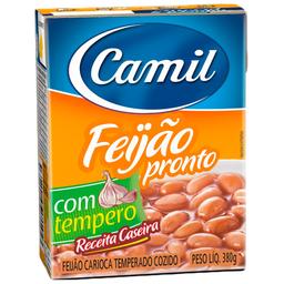 Feijão Carioca Temperado Camil 380g