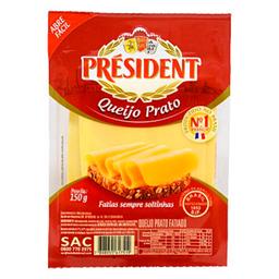 Queijo Prato Fatiado Président 150g