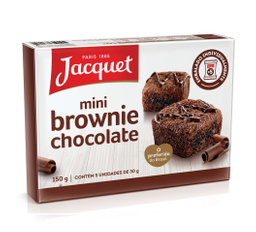 MINI BROWNIE JACQUET 150G CHOCOLATE