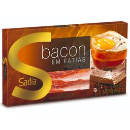 Bacon Resfriado Fatiado Sadia 250g