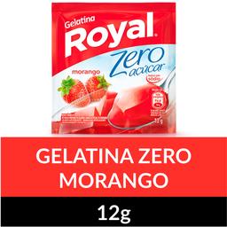 Gelatina Zero de Morango Royal 12g