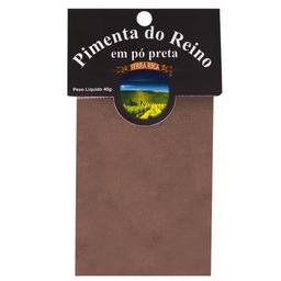 Pimenta Preta em Pó Terra Rica 40g