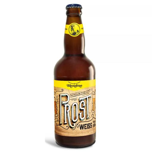Cerveja Prost Weiss Blondine 500ml