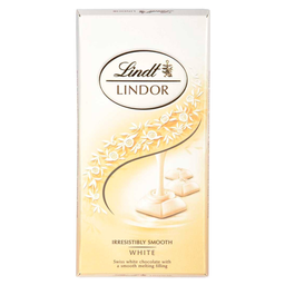 Chocolate Lindor White Lindt 100g