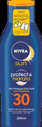 Protetor Solar NIVEA SUN Protect & Hidrata FPS30 200mL