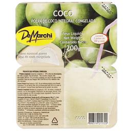 Polpa de Fruta Coco Demarchi 200g
