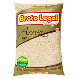 Arroz Polido Fino Broto Legal 5kg