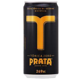 Água Tônica Prata Zero Lata 269ml