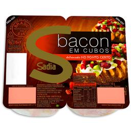 Bacon Cubos Resfriado Sadia 140g