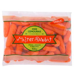 Mini Cenouras Mister Rabbit 100g