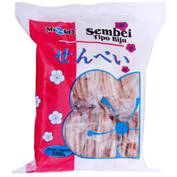 Biscoito Biju Sembei Miyako 250g