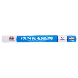 Papel Alumínio Wyda 45cm x 7,5m