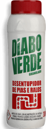 Soda Cáustica Em Pó Diabo Verde 300 g